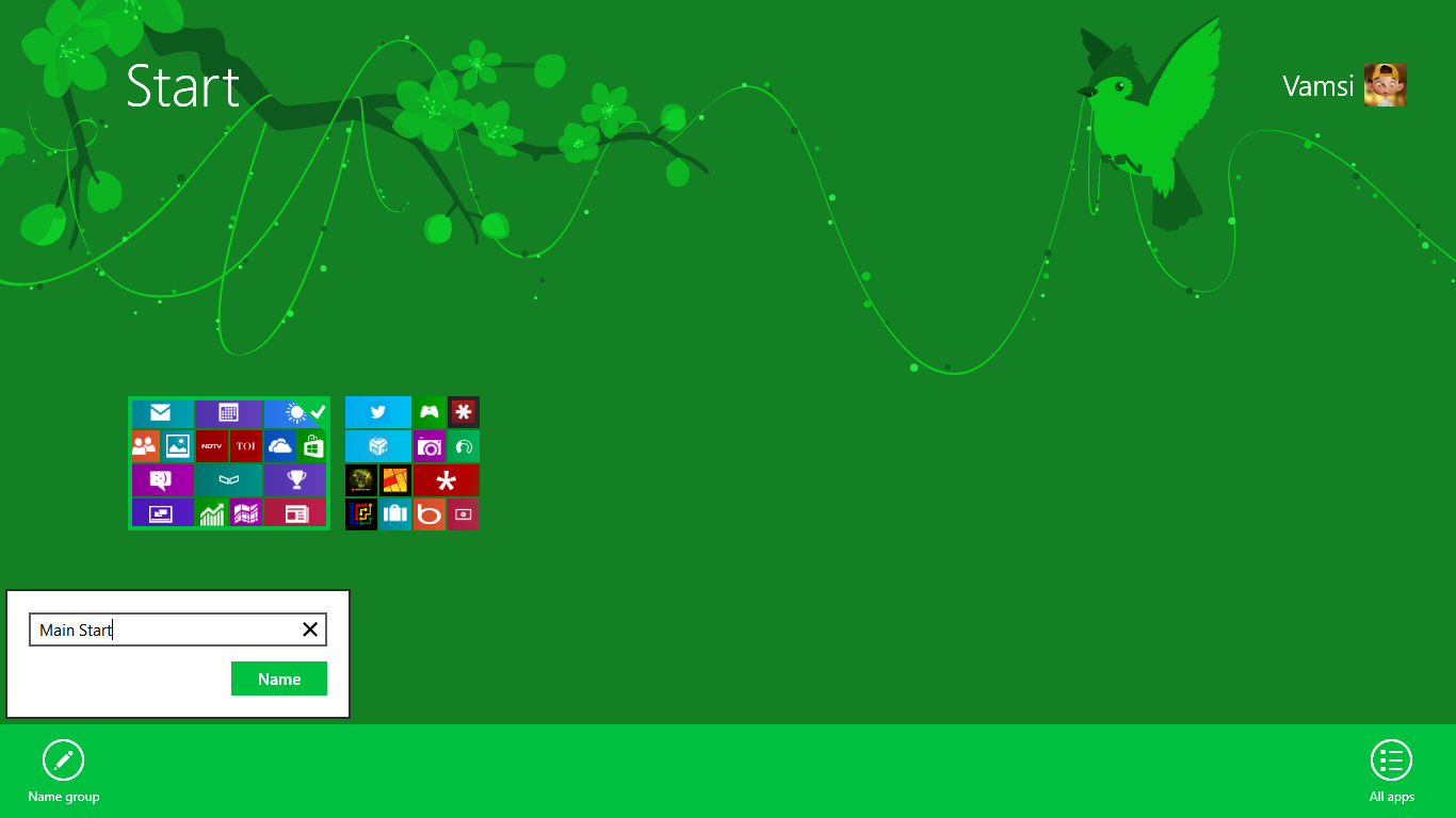 How to customize start button windows 8 - Randys loan and