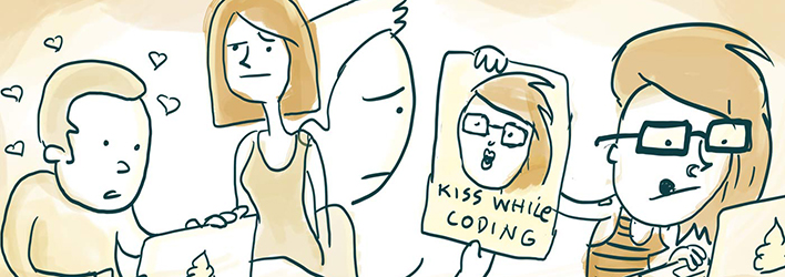 the pros and cons of dating a programmer