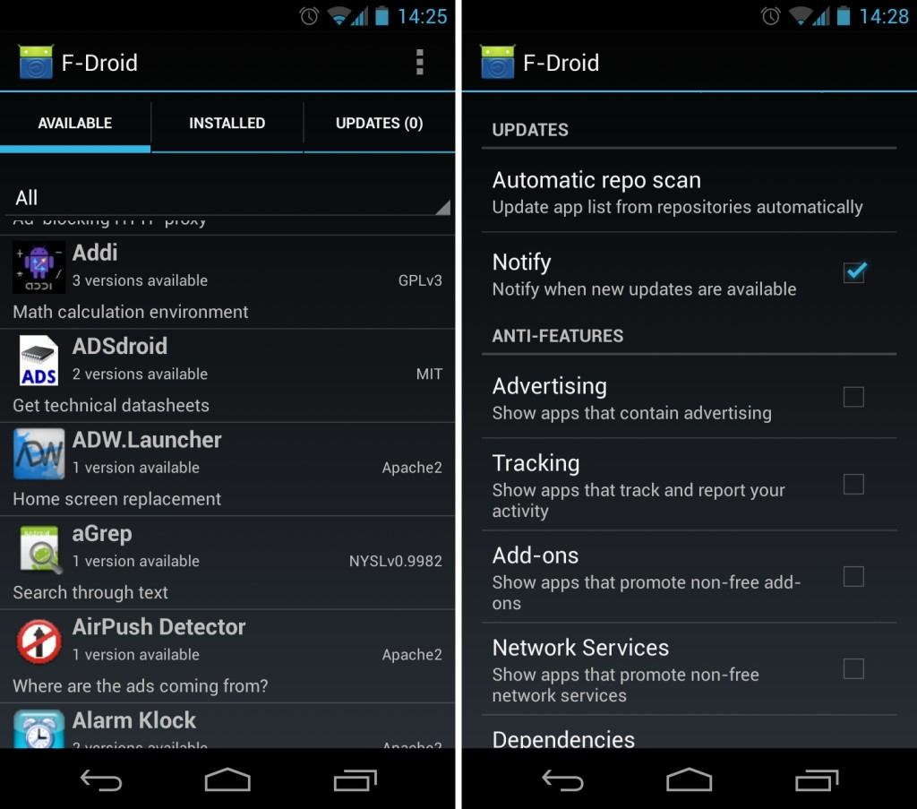 f droid app store download