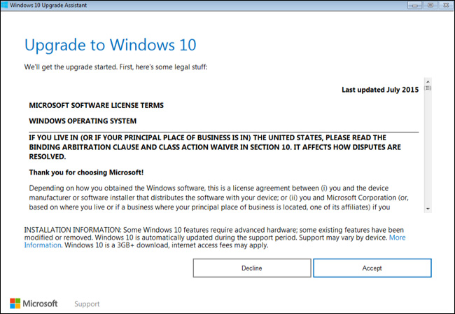 windows 10 machine license