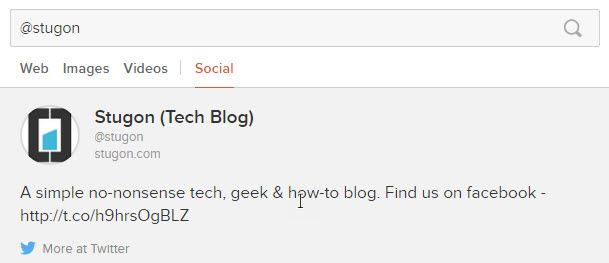 duckduckgo search tips social media search