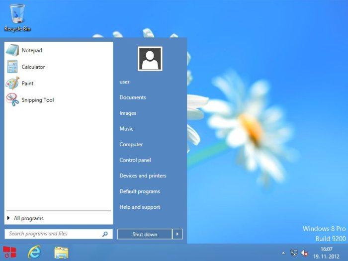 start menu alternatives for windows 10 startw8 start menu