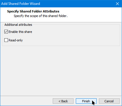 shared-folders-vmware-finish-wizard