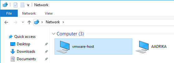 shared-folders-vmware-network-share